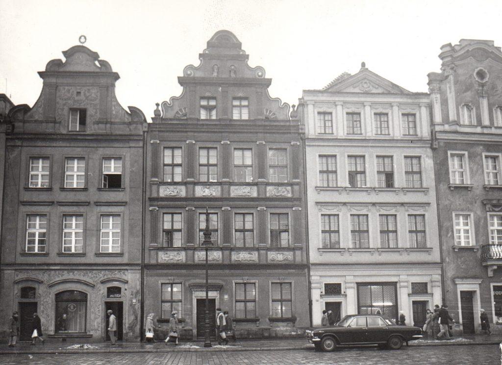 Stary Rynek 56, Poznań, 1976 rok