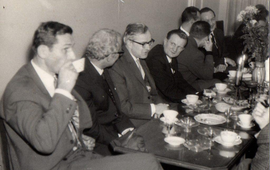 Zebranie w Klubie Architekta_ fot. autor nieznany