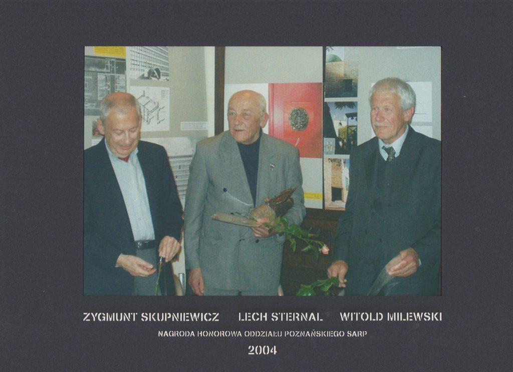 Honorowa Nagroda SARP Oddział Poznań 2004 rok