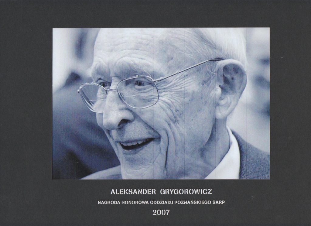 Honorowa Nagroda SARP OP 2007 rok