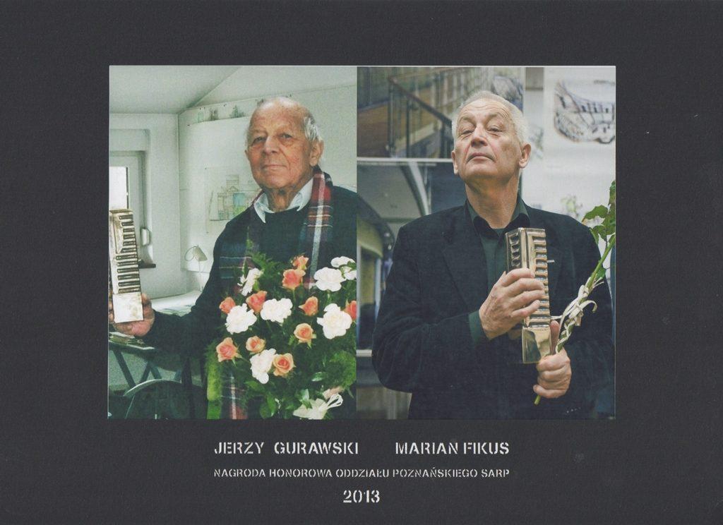 Honorowa Nagroda SARP OP 2013 rok