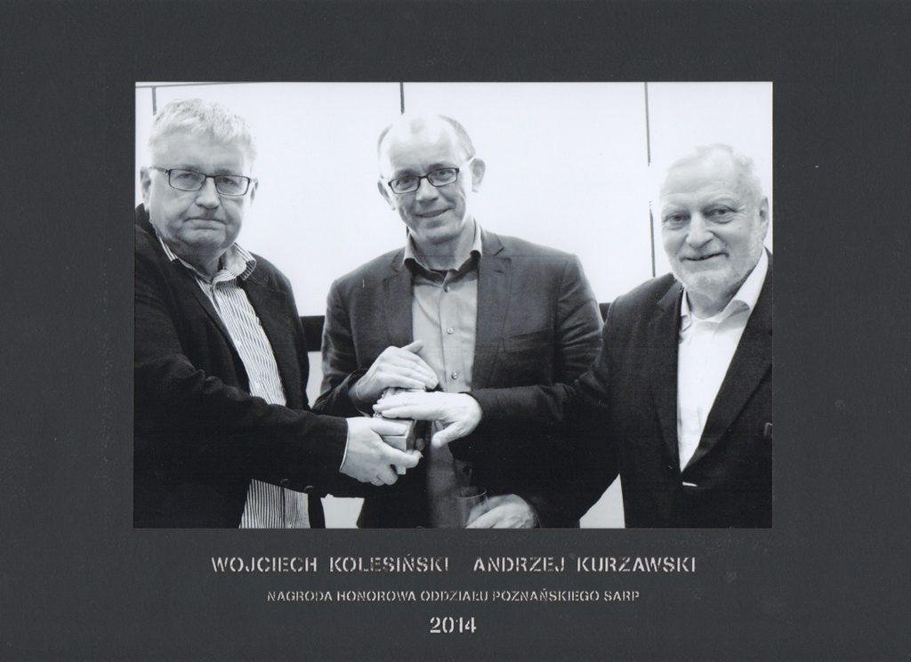 Honorowa Nagroda SARP OP 2014 rok