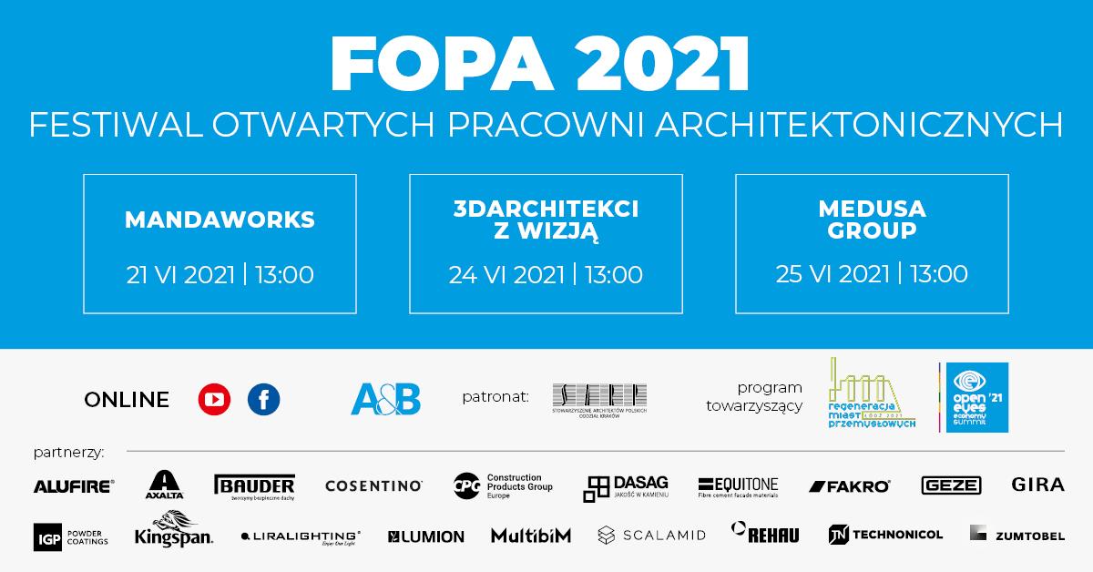 festiwal otwartych pracowni architektonicznych